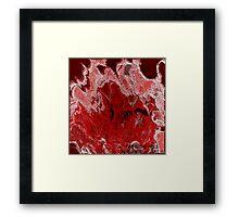 (  FIRE  IN  THE   HOLE )  ER IC WHITEMAN  ART   Framed Print