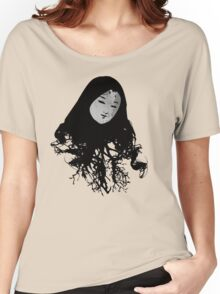 Enchanting Oriental Mood Women's Relaxed Fit T-Shirt