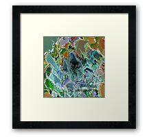 ( CELESTIAL )  ERIC WHITEMAN  ART   Framed Print