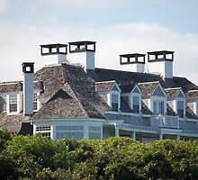 Gables & Chimneys by phil decocco