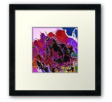 ( BAD DREAM  )   ERIC WHITEMAN ART  Framed Print