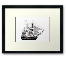 HMS Surprise Framed Print
