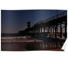 """"""" Sunset at the Pier """" Poster"""