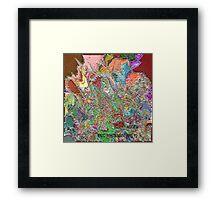 ( ANGER )  ERIC  WHITEMAN  ART   Framed Print