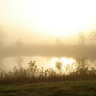 Foggy Pond by Mike  McGuire