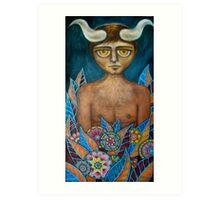 'Bullboy' Art Print