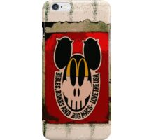 Bibles, Bombs & Big Macs! iPhone Case/Skin