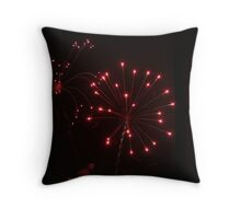 Rockets Red Glare Throw Pillow