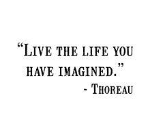 Thoreau Quote by AmazingMart