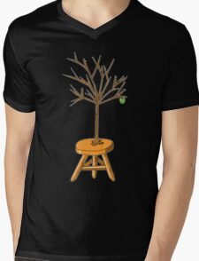Wacky Design - Tree-stool Mens V-Neck T-Shirt