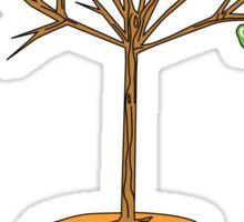 Wacky Design - Tree-stool Sticker