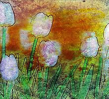 Textured Tulips by Darlene Lankford Honeycutt