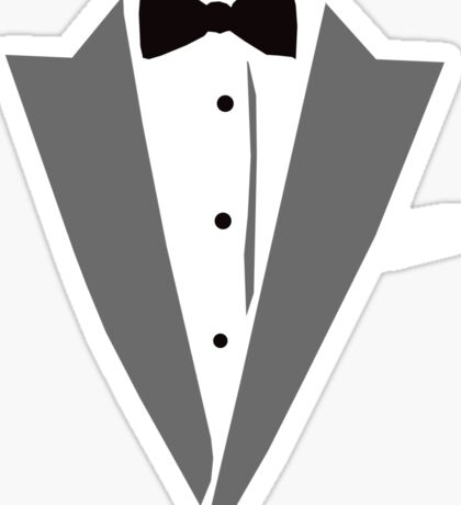 Casual Tuxedo Sticker