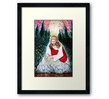 Study of Christ in Gethsemane Framed Print