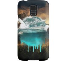 Elements collide. Samsung Galaxy Case/Skin