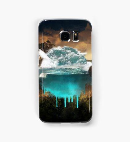 Elements collide. Samsung Galaxy Case/Skin