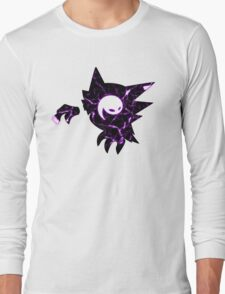 Pokemon Haunter ghost fracture Long Sleeve T-Shirt