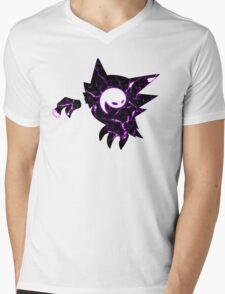 Pokemon Haunter ghost fracture Mens V-Neck T-Shirt