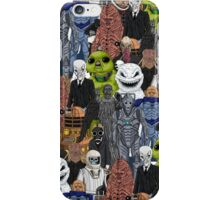 Doctor Who- Monsters Are Real iPhone Case/Skin