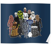 Doctor Who- Monsters Are Real Poster