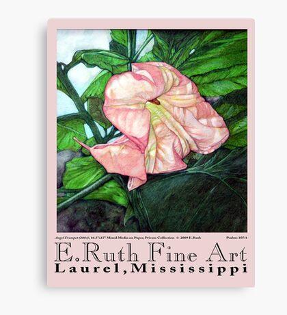 E.Ruth Fine Art Poster No 1 Canvas Print
