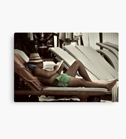 The Reader II Canvas Print