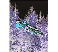 Motocross Dirt-Bike Championship Race  Photographic Print