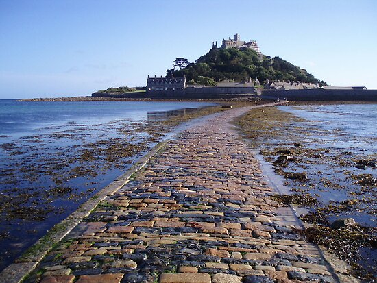 St Michaels Mount by Neill Parker