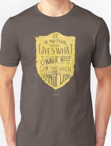 Conviction (gold) T-Shirt