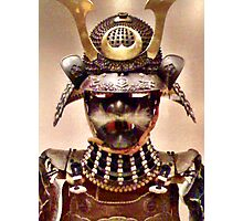 Samurai Warrior Armour Photographic Print