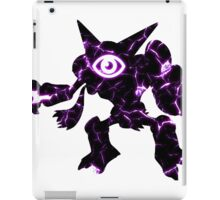 Pokemon Alakazam psychic fracture iPad Case/Skin