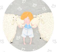 Olia's sheepies by gipgip