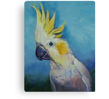 Cockatoo Canvas Print