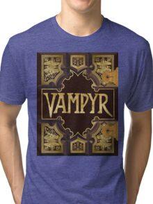 Vampyr Book Tri-blend T-Shirt