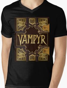 Vampyr Book Mens V-Neck T-Shirt