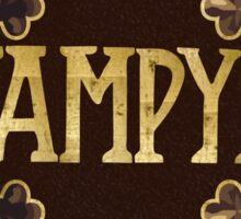 Vampyr Book Sticker