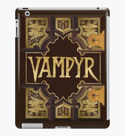 Vampyr Book iPad Case/Skin