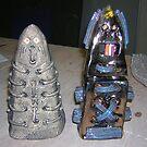 Termite Den/Termite Totem by Andrew  Donegan aka Piebald77