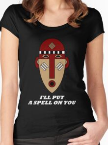 I'll Put a Spell on You Women's Fitted Scoop T-Shirt