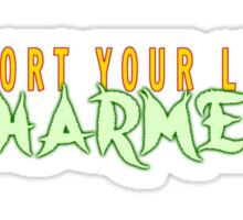 Support Your Local Pharmer Sticker