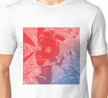 Hillary Clinton in red white and blue Unisex T-Shirt