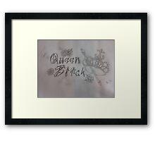 Queen Bitch Framed Print