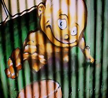 Graffiti Art Series - Behind Bars but just one more..... by EveW