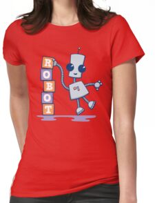 Ned's Blocks Womens Fitted T-Shirt