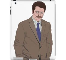 R. Swanson Drawing iPad Case/Skin