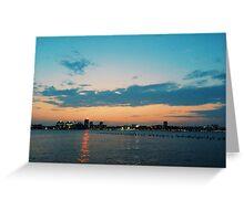Hudson River Park, NYC // B_Landscapes Greeting Card