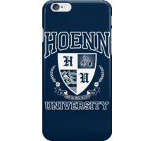 Hoenn University iPhone Case/Skin