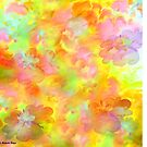 Spring Floral Abstract 41/  art + Product Design by haya1812