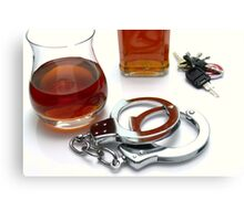 Drink Driving Canvas Print