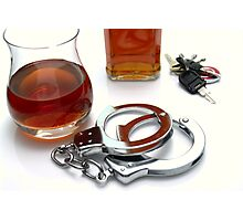 Drink Driving Photographic Print